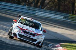 Jürgen Nett, Joachim Nett, Bradley Philpot, Peugeot 308 Racing Cup TCR