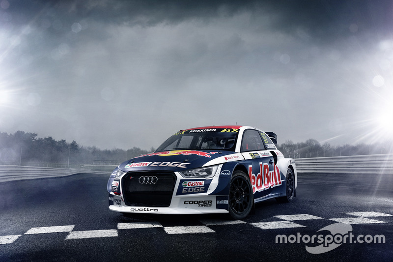 Audi S1 EKS RX quattro Томаса Хейккинена