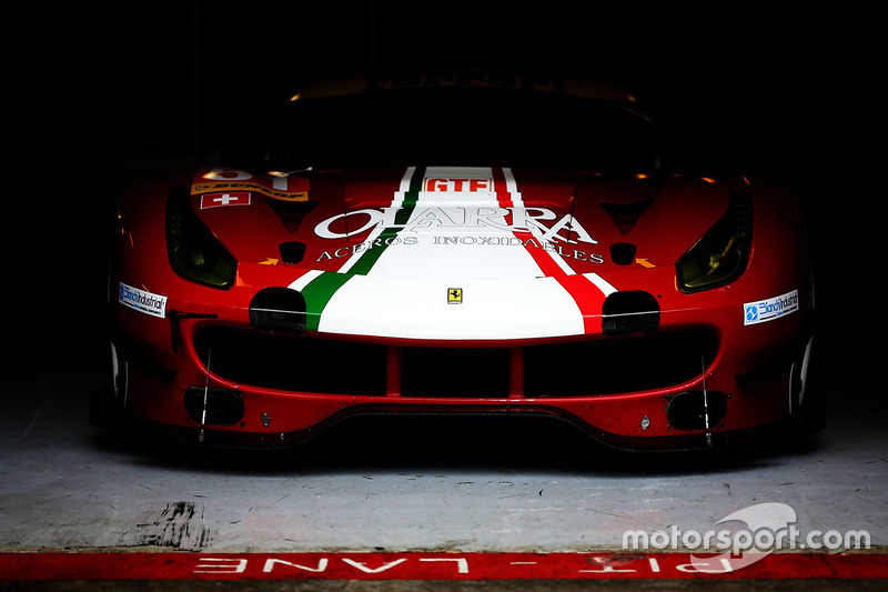 #51 Spirit of Race, Ferrari F488 GTE