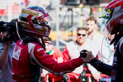 Carrera, Charles Leclerc, PREMA Powerteam, second place Luca Ghiotto, RUSSIAN TIME