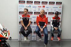Chaz Davies e Marco Melandri, Ducati Team