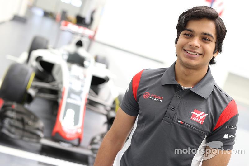 Arjun Maini, pilote de développement Haas