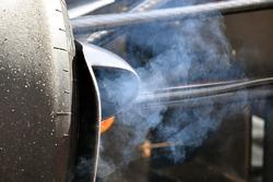 Humo en frenos Red Bull Racing RB13