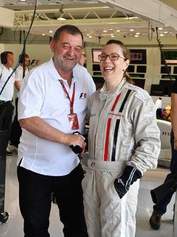 Experiencias de F1, auto con 2 plazas, pasajero y Paul Stoddart