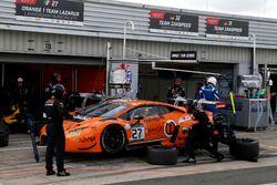 #27 Orange 1 Team Lazarus, Lamborghini Huracan GT3: Fabrizio Crestani, Gustavo Yacaman, Nicolas Pohl