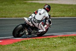 #12 KSB One Racing, BMW HP 4 1000: Raimo Kesseli, Tapio Nevala, Magnus Collin