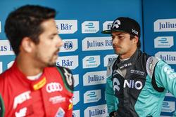 Lucas di Grassi, ABT Schaeffler Audi Sport, and Nelson Piquet Jr., NEXTEV TCR Formula E Team