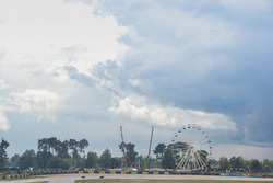 Storm clouds over the circuit