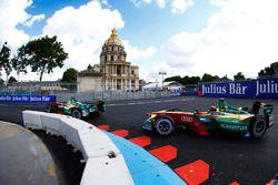 Lucas di Grassi, ABT Schaeffler Audi Sport, devance Daniel Abt, ABT Schaeffler Audi Sport
