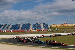 Anthoine Hubert, ART Grand Prix y Alessio Lorandi, Jenzer Motorsport