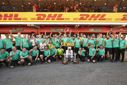 Ganador, Lewis Hamilton, Mercedes AMG F3