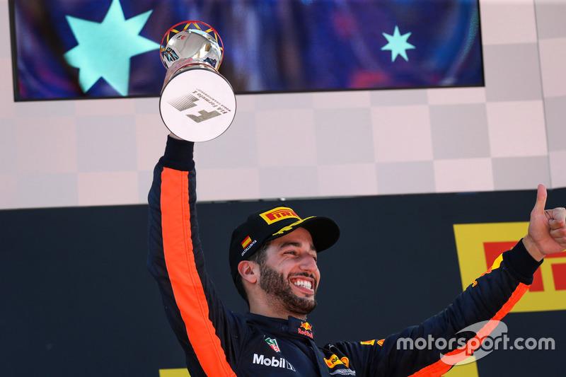 O australiano foi terceiro colocado no GP da Espanha, em Barcelona.