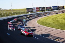 Toyota Camry pace car leads the field