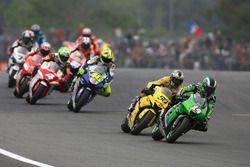 Randy de Puniet, Kawasaki Racing Team, Sylvain Guintoli, Yamaha Tech 3