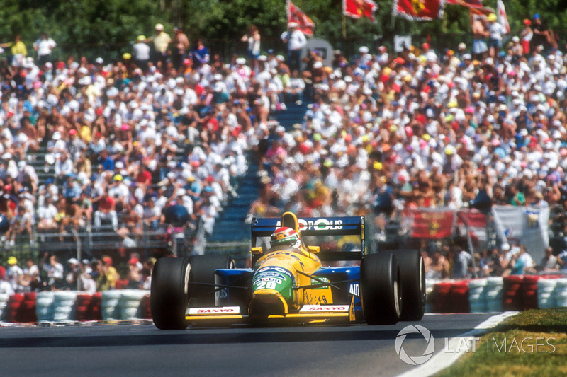 1991 Nelson Piquet, Benetton