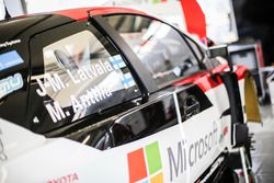 Toyota Yaris WRC, Toyota Racing, detalle