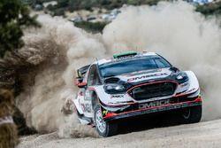 Elfyn Evans, Daniel Barritt, M-Sport Ford Fiesta WRC