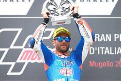 Podium: Race winnaar Mattia Pasini, Italtrans Racing Team race