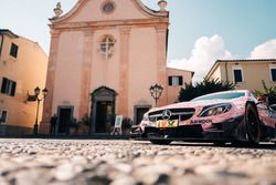 The wedding car of Maro Engel, Mercedes-AMG Team HWA