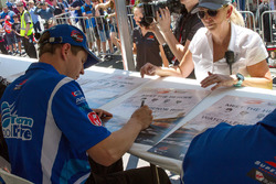 Todd Hazelwood, Prodrive Racing Australia during the autograph session