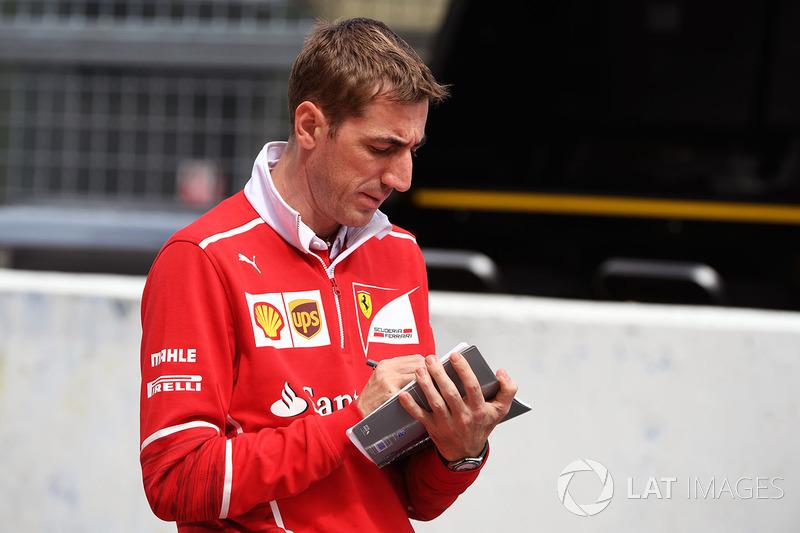 Ingeniero de Ferrari