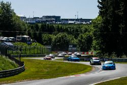 Start action, Nestor Girolami, Polestar Cyan Racing, Volvo S60 Polestar TC1 leads