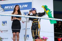 Podium : le vainqueur Pietro Fittipaldi, Lotus
