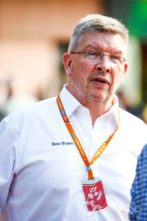 Ross Brawn, director deportivo, FOM