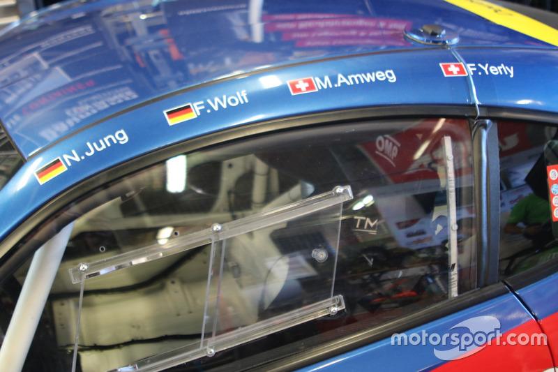 Manuel Amweg, Frédéric Yerly, Nils Jung, Florian Wolf, Toyota GT86, Ring Racing, cockpit