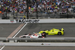 James Davison, Dale Coyne Racing Honda, Simon Pagenaud, Team Penske Chevrolet