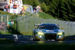 #5 Phoenix Racing, Audi R8 LMS: Mike Rockenfeller, Nicolay Møller Madsen, Dennis Busch, Frank Stippl