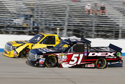 Harrison Burton, Kyle Busch Motorsports Toyota, Cody Coughlin, ThorSport Racing Toyota