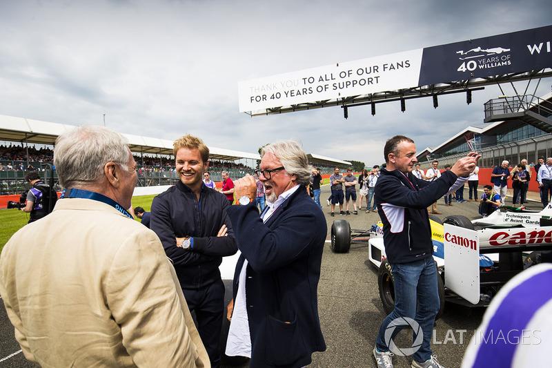Patrick Head, Nico Rosber, Keke Rosberg