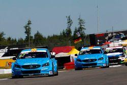 Thed Björk, Polestar Cyan Racing, Volvo S60 Polestar TC1, Nestor Girolami, Polestar Cyan Racing, Vol