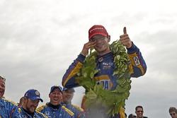 Il vincitore della gara Alexander Rossi, Curb Herta - Andretti Autosport Honda