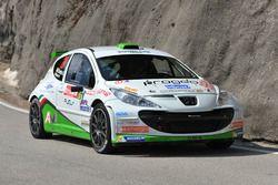 Domenico Erbetta, Matteo Magrin, Peugeot 207 S2000, GDA Communication
