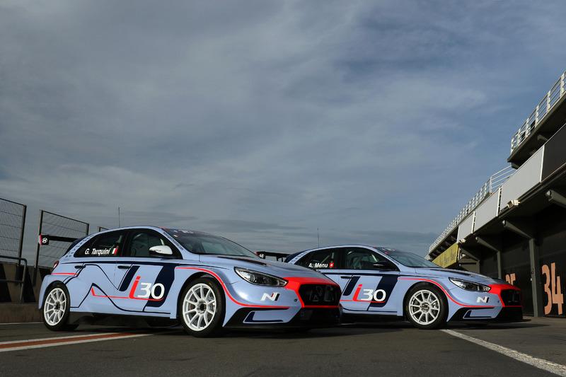 Les Hyundai's i30 N TCR de Gabriele Tarquini et Alain Menu