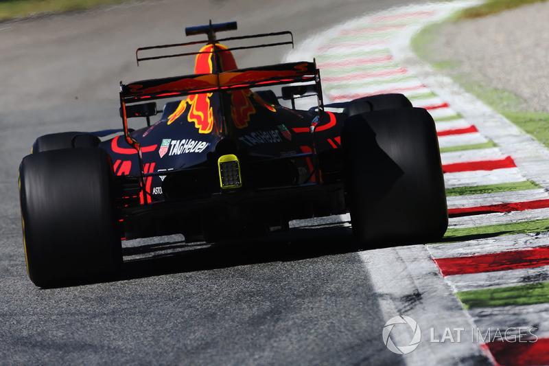 Giro 18 - Daniel Ricciardo, Red Bull Racing RB13