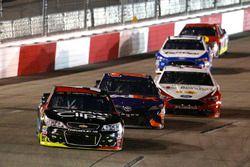 Kasey Kahne, Hendrick Motorsports Chevrolet, Denny Hamlin, Joe Gibbs Racing Toyota, Joey Logano, Tea