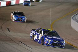Jimmie Johnson, Hendrick Motorsports Chevrolet, Austin Dillon, Richard Childress Racing Chevrolet