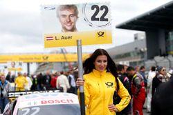 Grid girl de Lucas Auer, Mercedes-AMG Team HWA, Mercedes-AMG C63 DTM