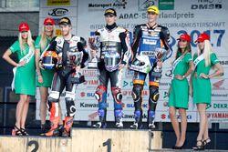 Podium: 1. Markus Reiterberger, BMW S 1000 RR , 2. Danny de Boer, BMW S 1000 RR, 3. Florian Alt, Yam