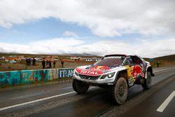 #307 Peugeot Sport Peugeot 3008 DKR: Сириль Депре, Давид Кастера