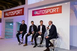 Richard Dean (United Autosport), with Christian England and Wayne Boyd