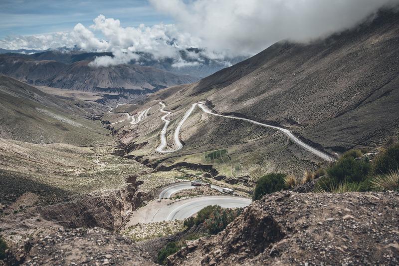 Un paysage d'Amérique du Sud