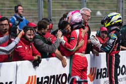 Maximilian Günther, Prema Powerteam, Dallara F317 - Mercedes-Benz, Joel Eriksson, Motopark, Dallara