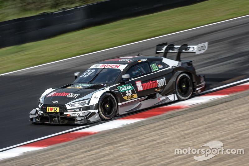 2017 (машина чемпиона и титул конструктора): Audi RS 5 DTM