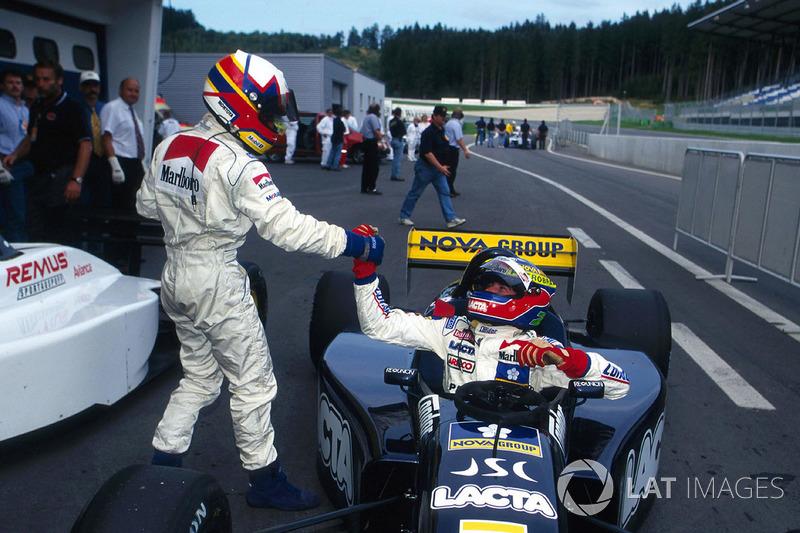 La temporada 1997 de Montoya en la Fórmula 3000: