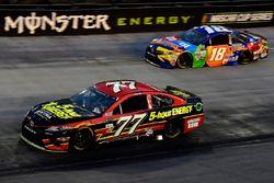 Erik Jones, Furniture Row Racing Toyota, Kyle Busch, Joe Gibbs Racing Toyota