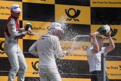 Podium: Loic Duval, Audi Sport Team Phoenix, Audi RS 5 DTM, Marco Wittmann, BMW Team RMG, BMW M4 DTM